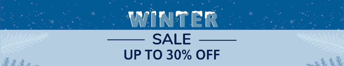 Winter Sale 2020 - Up to 30% OFF